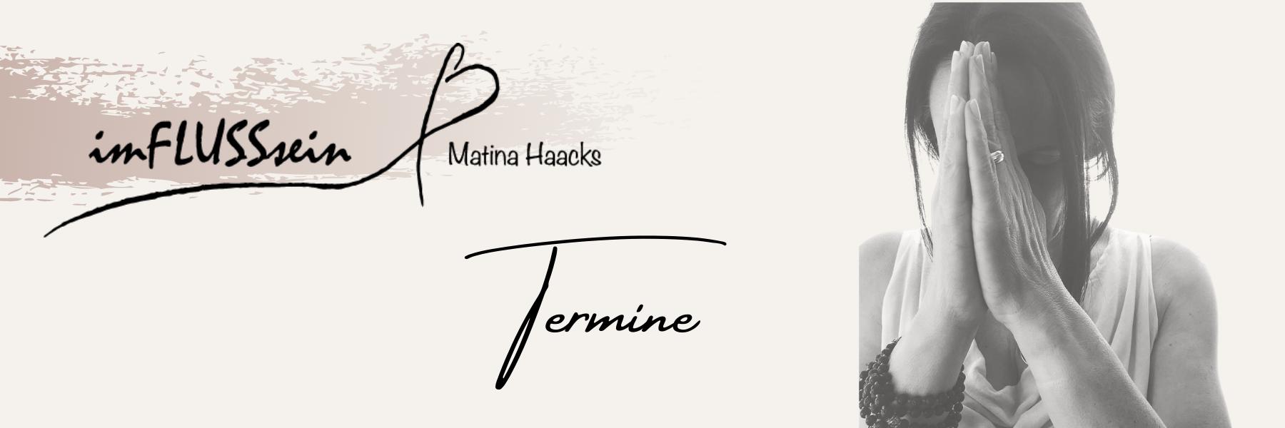 Matina Haacks Entspannungspädagogin und Gründerin von imFLUSSsein - Mehr Entspannung, weniger Stress.